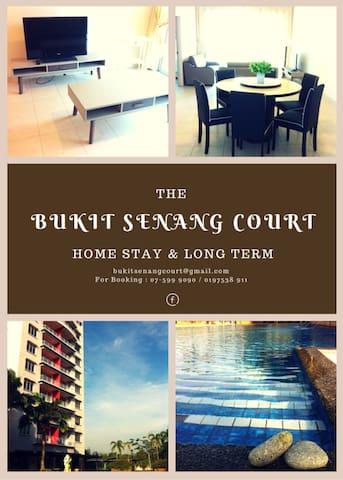 BUKIT SENANG COURT,SENAI JOHOR - Senai - Flat