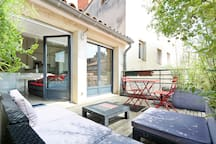 Hypercenter cozy Duplex , terrace