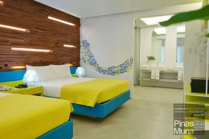 Beachfront Suite in Palawan - プエルトプリンセサ - 別荘