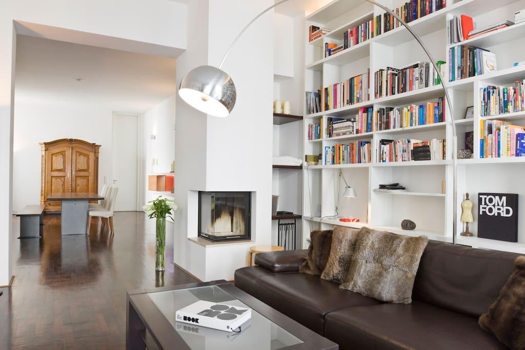 tasteful bauhaus style berlin city flats for rent in. Black Bedroom Furniture Sets. Home Design Ideas