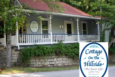 Cottage On The Hillside - Eureka Springs