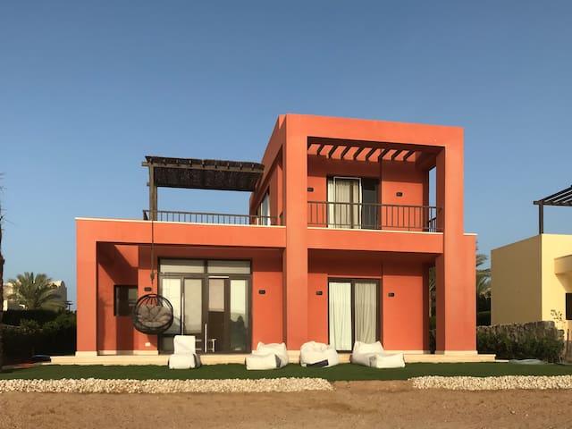El Gouna Cozy Lagoon front stand alone Villa