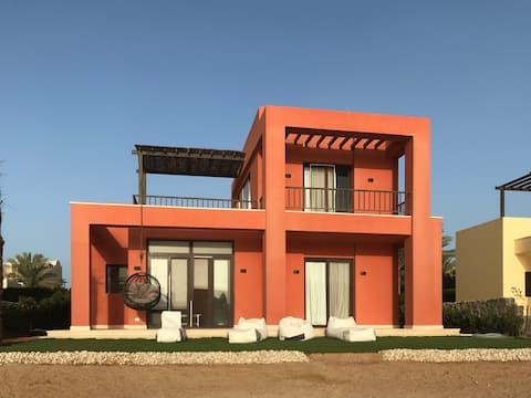 El Gouna Acogedora Laguna frente independiente Villa