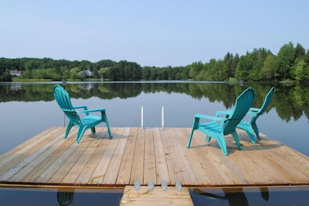 Charming Lakefront, Relaxing view. - Mount Pocono - Ev