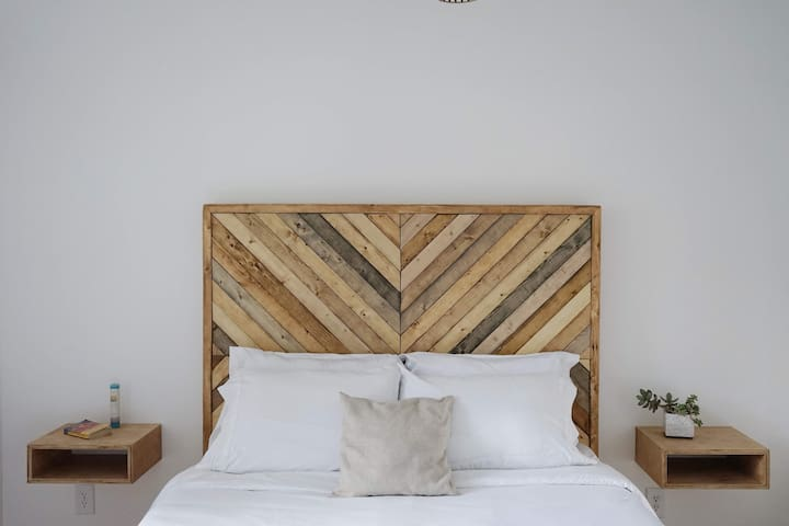 Rustic Modern Private Bedroom