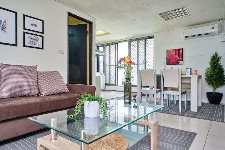 2Bedrooms, Near 101 , Huge Balcony - DaAn - Appartamento