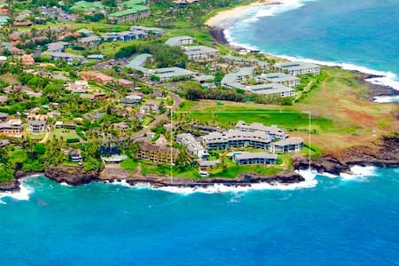 Poipu Beach 3 bed 2 bath Ocean View - Koloa - Wohnung