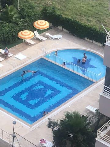 Antalya Konyaaltı plajlarına 5 dakika mesafede