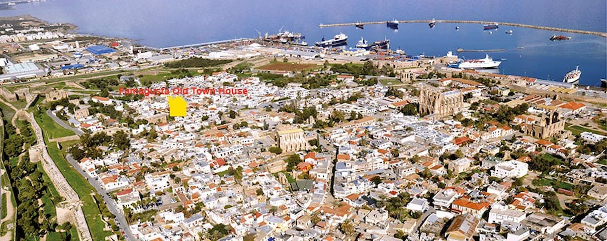 Cyprus Famagusta Old Town House - Gazimağusa - Huis