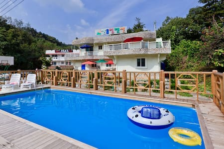 Cute 1BD room&Pool! 귀여운 원룸과 수영장 - Namsan-myeon, Chuncheon-si