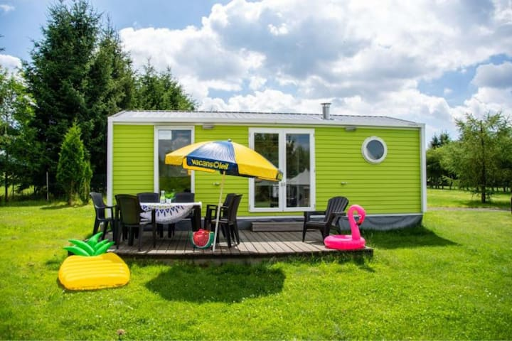 Cozy Mobile Home in Januv Dul with Swimming Pool