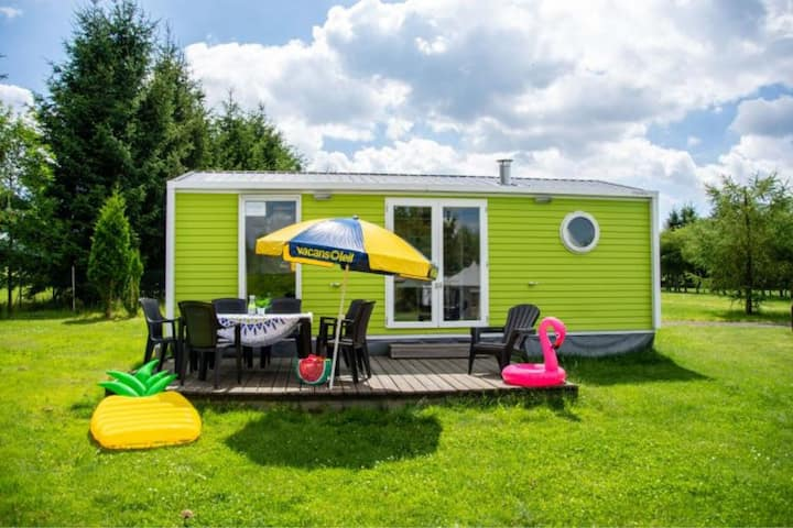 Lovely Mobile Home in Januv Dul with Swimming Pool