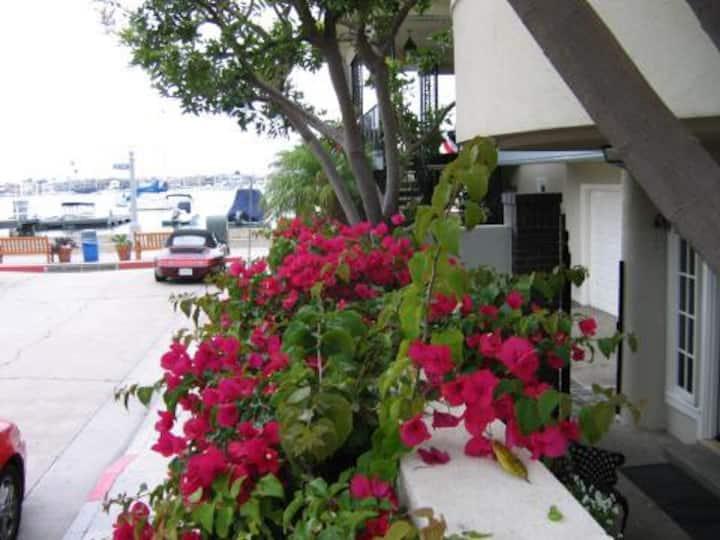 Balboa Island Bayfront Apartment