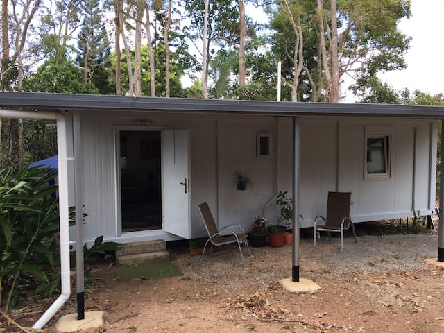 Self contained unit on lovely bush block