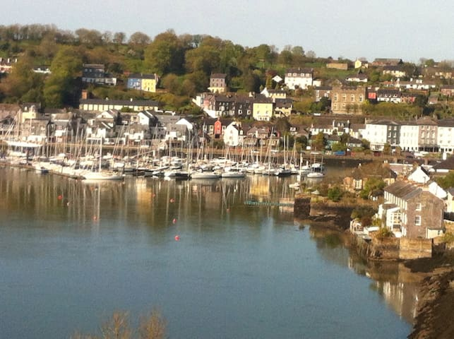 View of Kinsale from Across the harbour.
