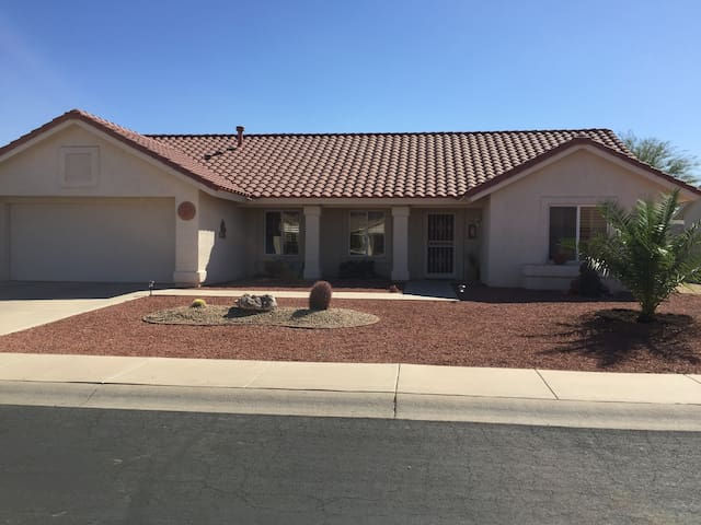 Newly Renovated Desert home in golf community