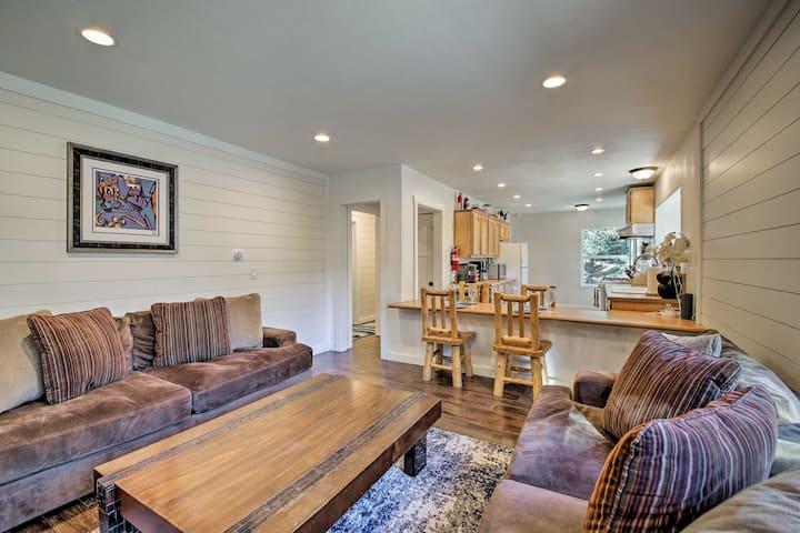 Lake Arrowhead Home: Gameroom, Patio, Pets Welcome