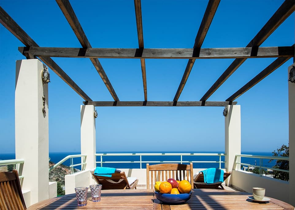 Patio with unlimited view