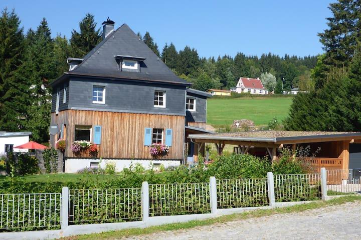 Ferienwohnung Heber in Vesser, Thüringer Wald - Suhl - Apartamento