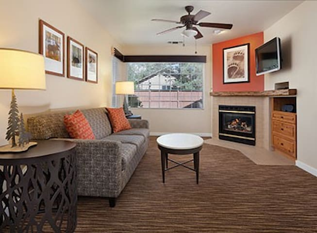 Beautiful Studio Condo at WorldMark Big Bear