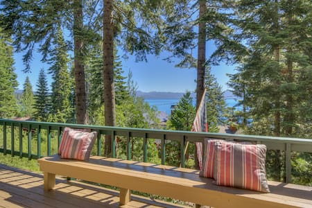 Private Buoy and Lake Views - Grace by the Lake - Homewood - Stuga