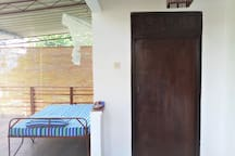 balcony adjoining to bed room #1