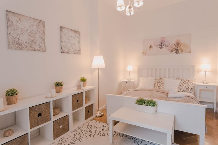 Lovely romantic studio in the historical area