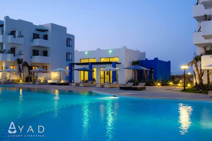 Mansouria Reach Resort -2 chambres / vue sur mer