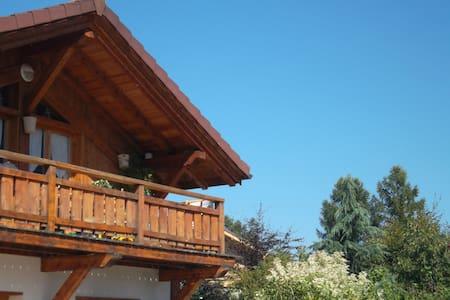 Votre chambre dans un chalet face au Mont Blanc