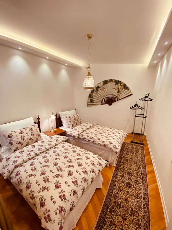 Warm cozy apartment in the center of the city