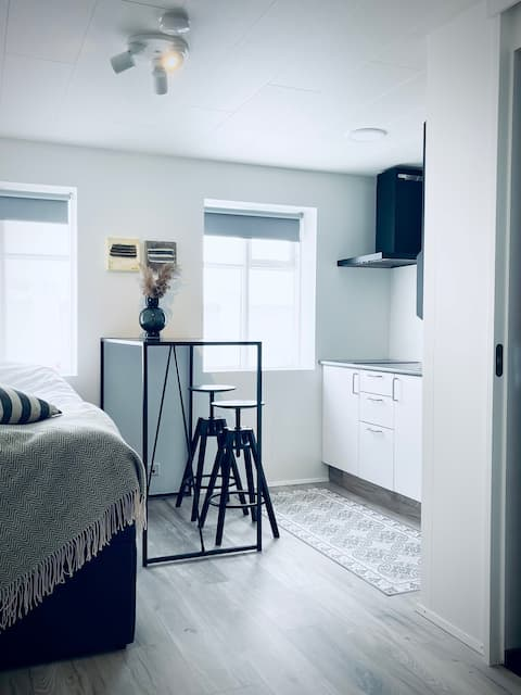 Central and cosy studio apartment in Akureyri
