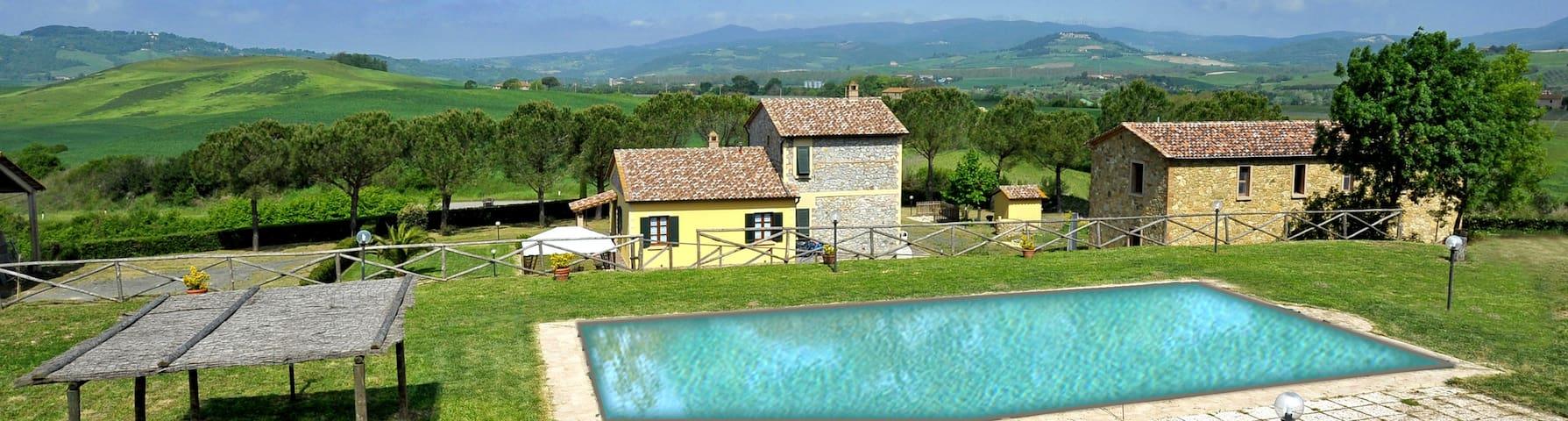 Agriturismo Santa Chiara Appartamento con piscina
