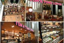 Tom Tom cafe inside the trendy complex