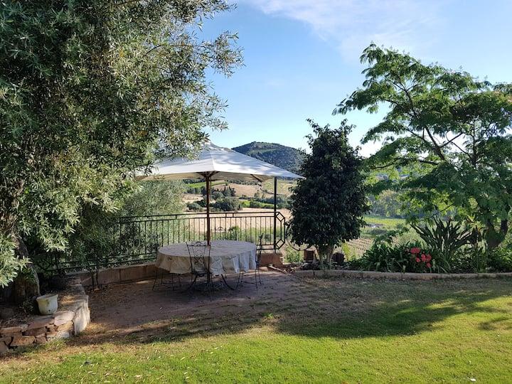 Grande casa vacanze immersa tra gli ulivi