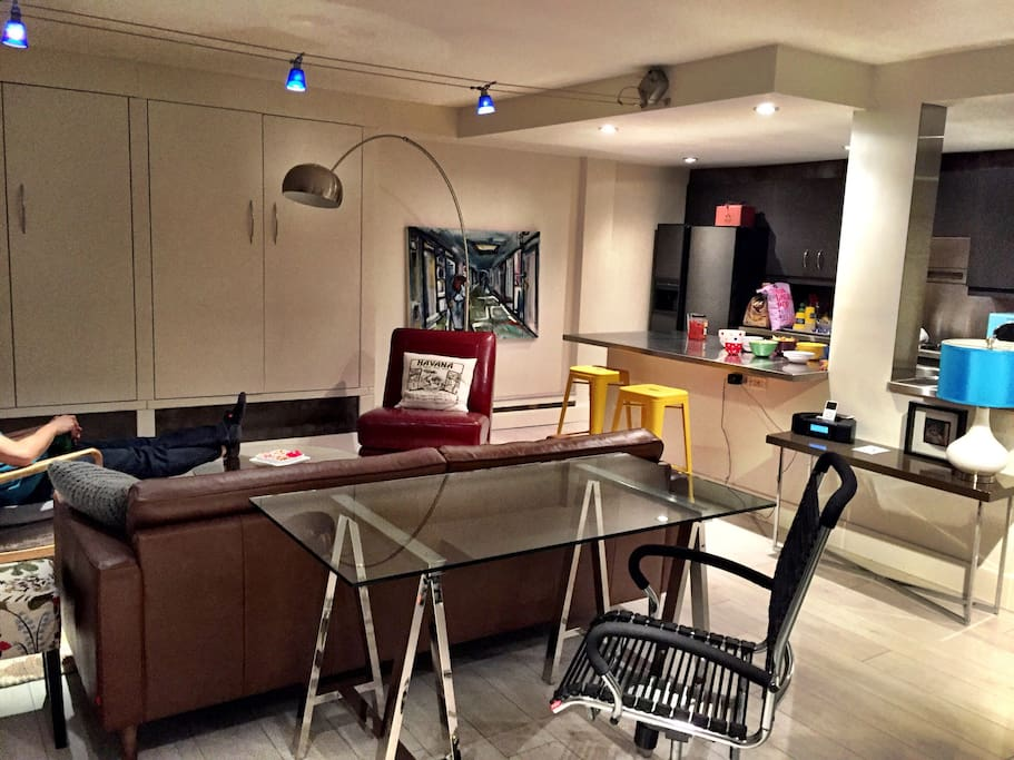 Funky Open Concept Downtown Studio Apartments For Rent