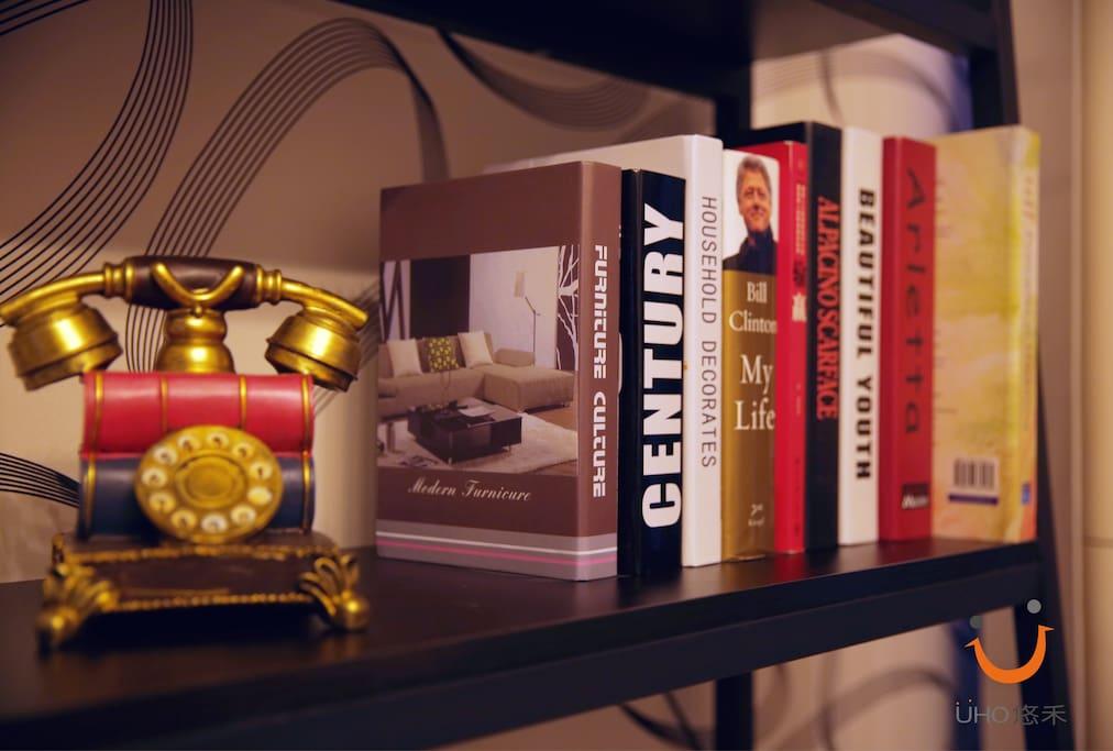 书架 the bookshelf