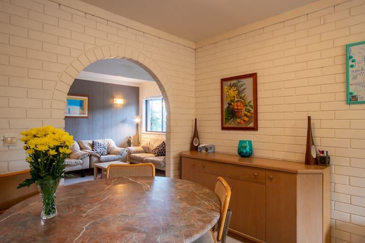 Beacon Vista 2 bedroom Unit with new bathroom.