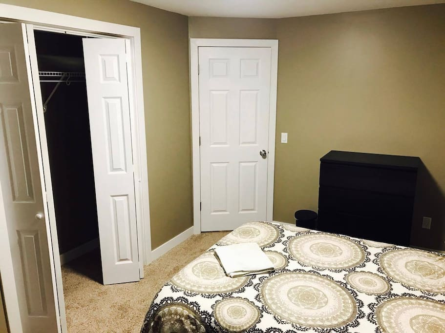 Dessert Room with Fluffy Pillows, located in Basement,freshly built in January 2017.