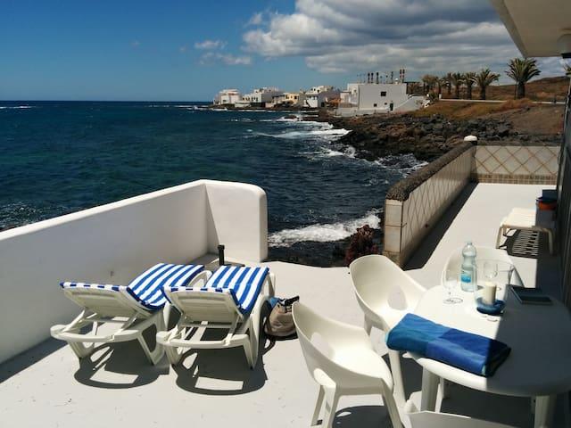 Villa in beachfront - Lanzarote - Teguise - Chalé