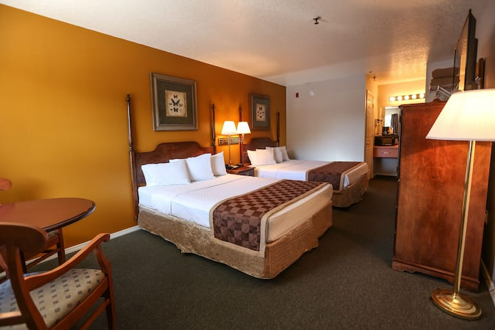 Private 300 SQ ft. Room at Branson King Resort