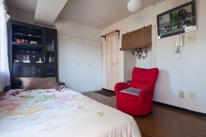 6min from Subway Station ! Maruyama strong WiFi