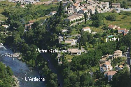 Villa de charme, Vieil Ucel - Ucel - 一軒家