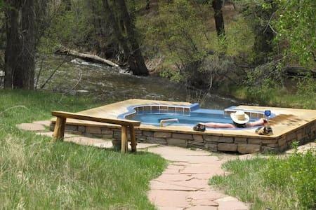 Creek Side Hot Springs Cabin - Nathrop