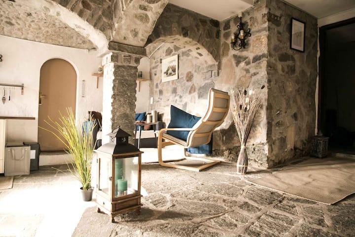 Casa Alma Grotto: Rustico ticinese con vista lago