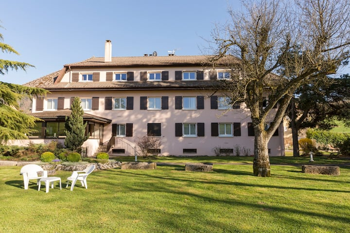Business hotel near Geneva and Annecy