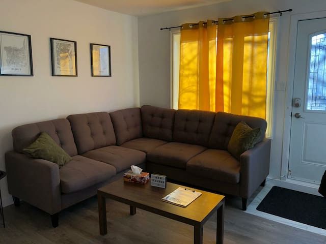 Entire apartment renovated