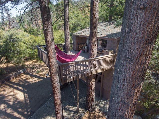 You'll love the hammock during warmer months!