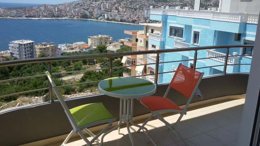 Rent Apartment Sarande SEA VIEW - Saranda