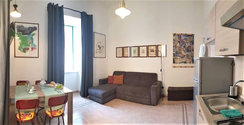 GIN-HOUSE nel centro storico di Pozzuoli