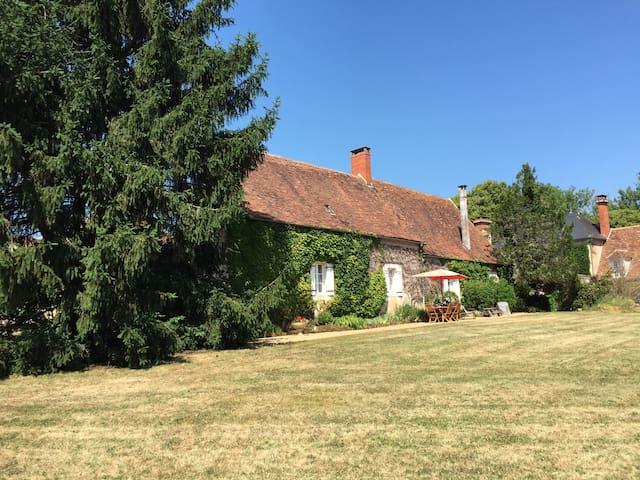 Farmhouse from Garden